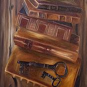 Картины ручной работы. Ярмарка Мастеров - ручная работа Картина маслом-60-90. Handmade.