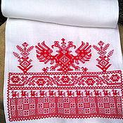 Русский стиль handmade. Livemaster - original item Great-Vologda towel. Handmade.