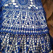 """Одежда ручной работы. Ярмарка Мастеров - ручная работа вязаная юбка""""Ультрамарин"""". Handmade."""