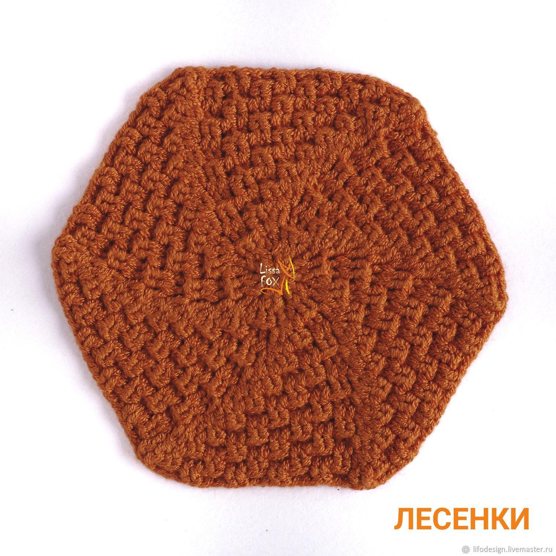 Донышко №16 ЛЕСЕНКИ, Схемы для вязания, Бердск,  Фото №1