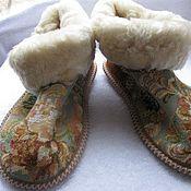 Обувь ручной работы handmade. Livemaster - original item Chuni sheepskin
