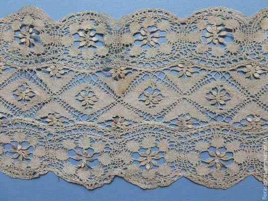 Винтажная одежда и аксессуары. Ярмарка Мастеров - ручная работа. Купить Мальтийский шелковый шарф. Handmade. Бежевый, старинный шарф