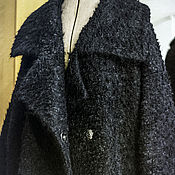 Одежда handmade. Livemaster - original item Warm wool coat. Large size.