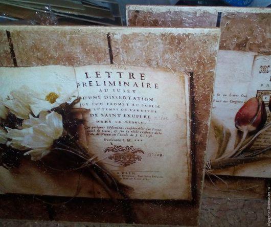 Картины цветов ручной работы. Ярмарка Мастеров - ручная работа. Купить Панно 60х60 деревянное большое_БЕЛЫЙ БУКЕТ НА КНИГЕ W0206. Handmade.