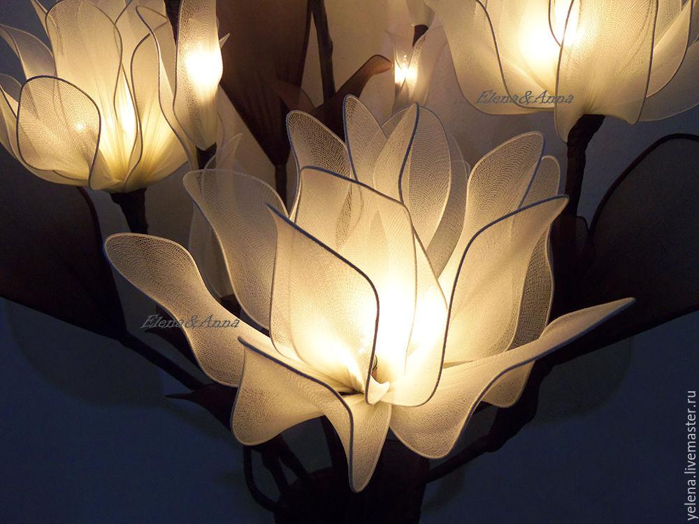 Тканевые светильники своими руками