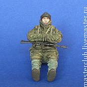 Куклы и игрушки ручной работы. Ярмарка Мастеров - ручная работа Современный Российский солдат. Handmade.