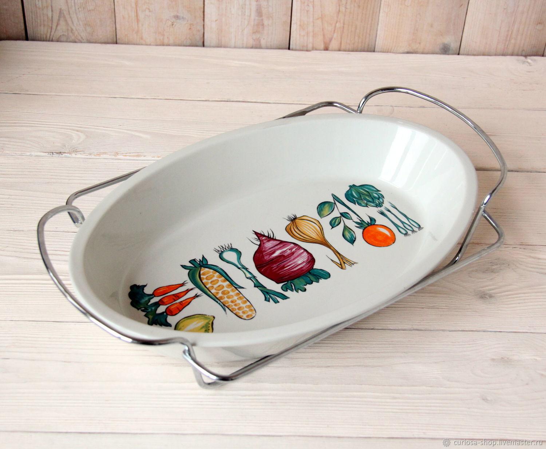 Винтаж: Villeroy&Boch Большая керамическая форма для запекания, Винтажная кухонная утварь, Москва,  Фото №1