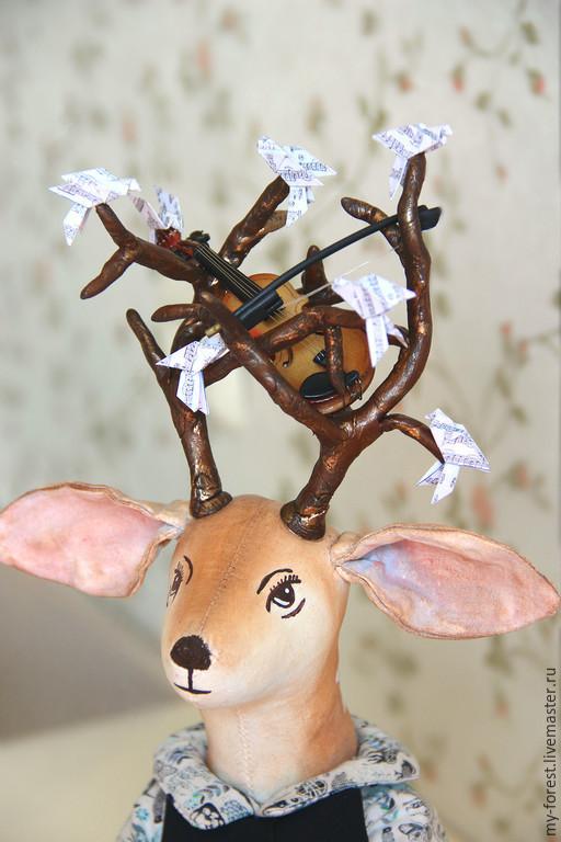 Куклы и игрушки ручной работы. Ярмарка Мастеров - ручная работа. Купить Олень Glory. Handmade. Олень, загородный дом, подарок на