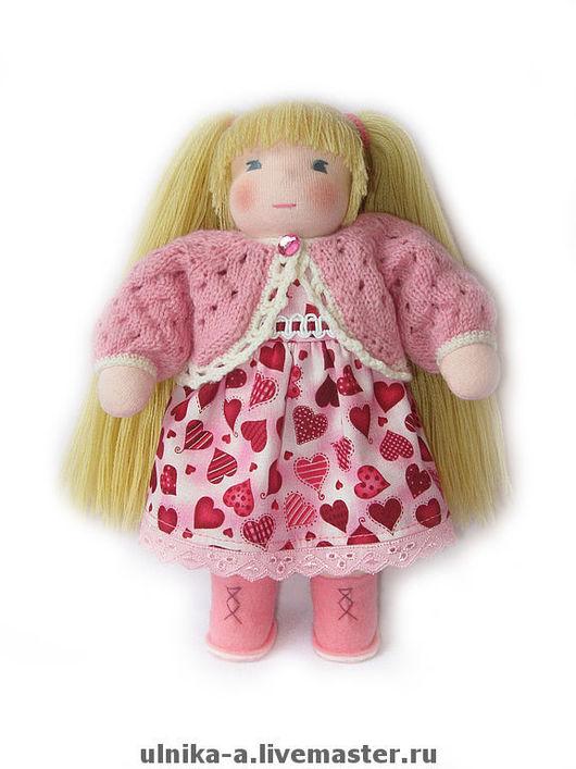 Вальдорфская игрушка ручной работы. Ярмарка Мастеров - ручная работа. Купить Кукла для Сонечки.. Handmade. Текстильная кукла, мягкая игрушка
