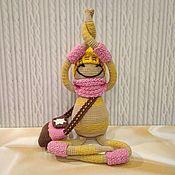 Куклы и игрушки handmade. Livemaster - original item Knitted toy, snegovichka Sally (author). Handmade.
