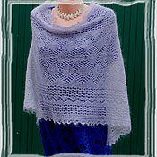 Аксессуары ручной работы. Ярмарка Мастеров - ручная работа шарф ажурный палантн пуховый. Handmade.