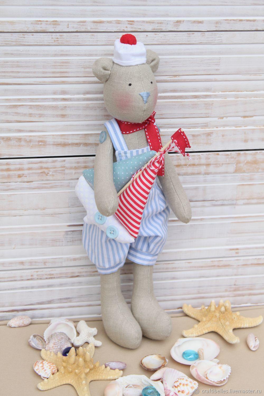 Bear sailor-style Tilde, Tilda Toys, Moscow,  Фото №1