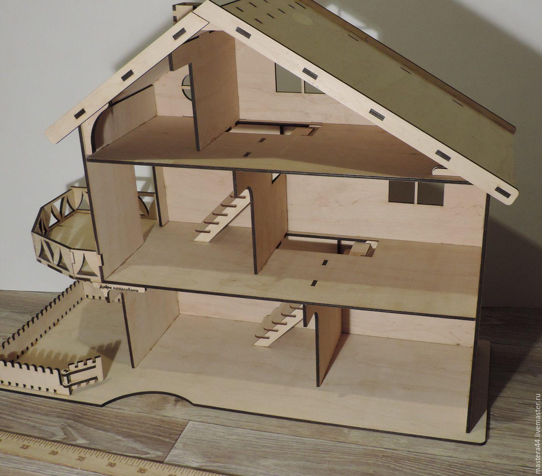 Кукольный домик своими руками из фанеры схема : с размерами чертеж для 5