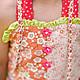 Одежда для девочек, ручной работы. Комбинезон боди летний сад Хлопок 2 г 4 5 л. Camilla Reynolds. Ярмарка Мастеров.