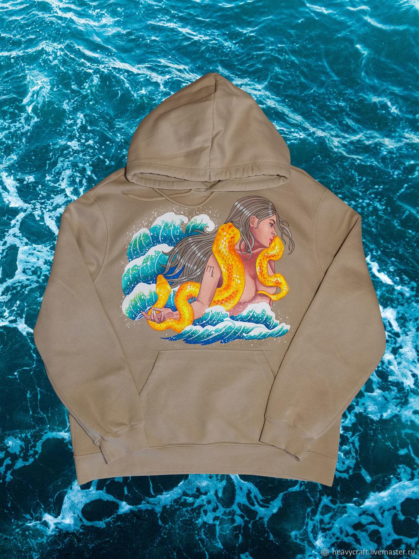 Hand-painted hoodies / hoodies / sweatshirts, Gifts for March 8, St. Petersburg,  Фото №1