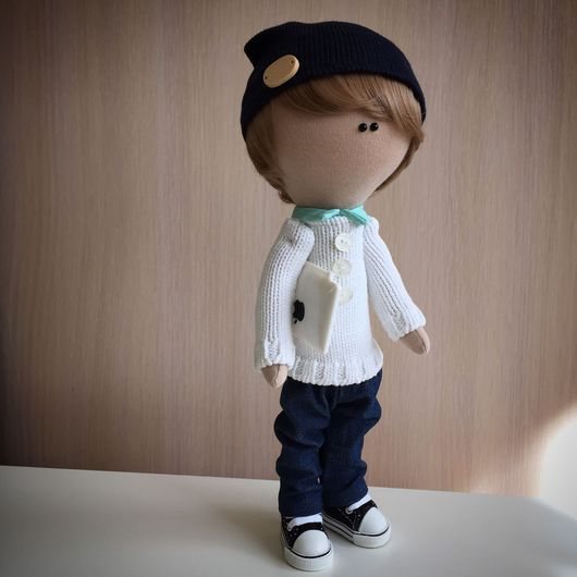 Куклы тыквоголовки ручной работы. Ярмарка Мастеров - ручная работа. Купить Текстильная кукла. Handmade. Кукла ручной работы, текстиль