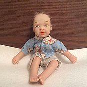 Куклы и игрушки handmade. Livemaster - original item Mini reborn baby mark. Handmade.