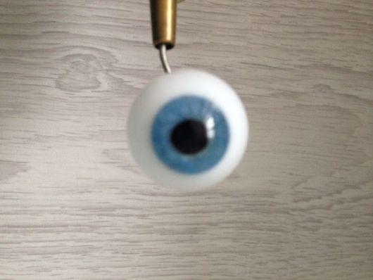 Куклы и игрушки ручной работы. Ярмарка Мастеров - ручная работа. Купить глаза Лауша 24 мм N4. Handmade.