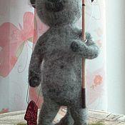 Подарки к праздникам ручной работы. Ярмарка Мастеров - ручная работа кот рыбак. Handmade.