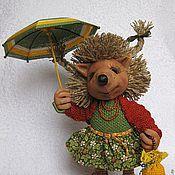 Куклы и игрушки ручной работы. Ярмарка Мастеров - ручная работа Ёжик Бусинка. Handmade.