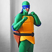 Одежда handmade. Livemaster - original item Teenage Mutant Ninja Turtles. Scenic suit/Carnival costume. Handmade.