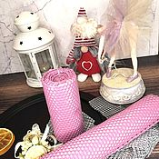 Свечи ручной работы. Ярмарка Мастеров - ручная работа Свечи из вощины ручной работы. Handmade.