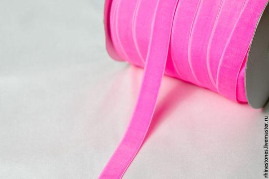 Другие виды рукоделия ручной работы. Ярмарка Мастеров - ручная работа. Купить Эластичная бархатная лента - резинка 330. Handmade.