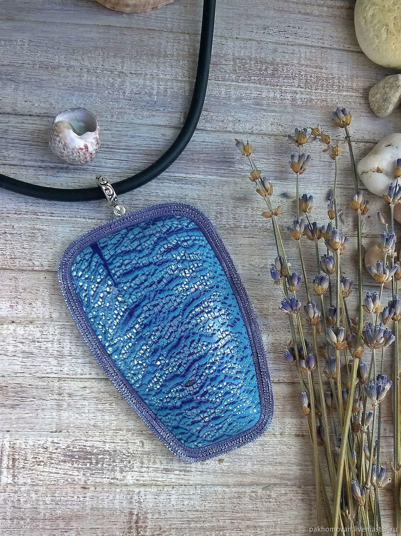 Pendant from polymer clay lavender summer boho pendant shop pendant from polymer clay lavender summer boho pendant aloadofball Gallery