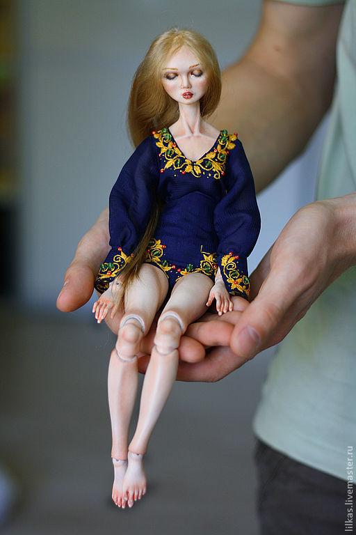 """Коллекционные куклы ручной работы. Ярмарка Мастеров - ручная работа. Купить """"Гармония"""". Handmade. Авторская шарнирная кукла"""