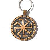 Аксессуары handmade. Livemaster - original item keychain Kolovrat ( sun gate ). Handmade.
