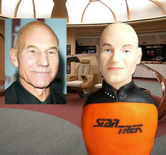Персональные подарки ручной работы. Ярмарка Мастеров - ручная работа. Купить Фигурка портретная кукла Star Trek. Handmade. Оранжевый