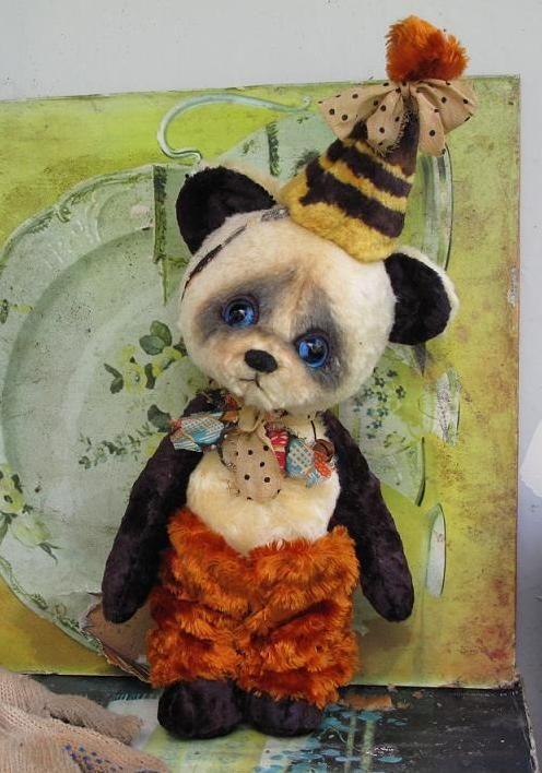 Мишки Тедди ручной работы. Ярмарка Мастеров - ручная работа. Купить Баклажанчик. Handmade. Мохер, плюш