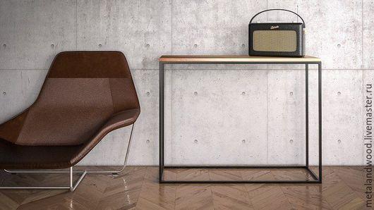 Мебель ручной работы. Ярмарка Мастеров - ручная работа. Купить Консоль LOFT mod.2. Handmade. Комбинированный, мебель лофт