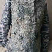 """Одежда ручной работы. Ярмарка Мастеров - ручная работа Валяный жакет """"Серенькая козочка"""". Handmade."""