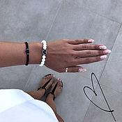 handmade. Livemaster - original item Bracelet agate Love. Handmade.