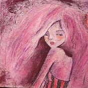 Картины и панно handmade. Livemaster - original item Painting with pastels - glamorous. Handmade.