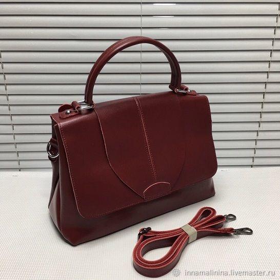 cce7c2239a91 Женские сумки ручной работы. Ярмарка Мастеров - ручная работа. Купить  Женская кожаная сумка через ...