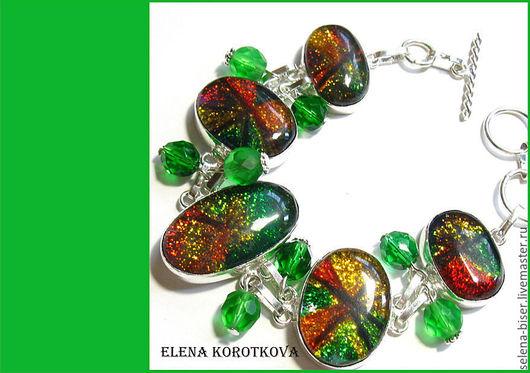 браслет цветной  браслет дихроик  цветной браслет  стильный браслет   зеленый браслет   браслет в подарок   купить браслет   браслет фото  купить браслет    безразмерный браслет  распродажа