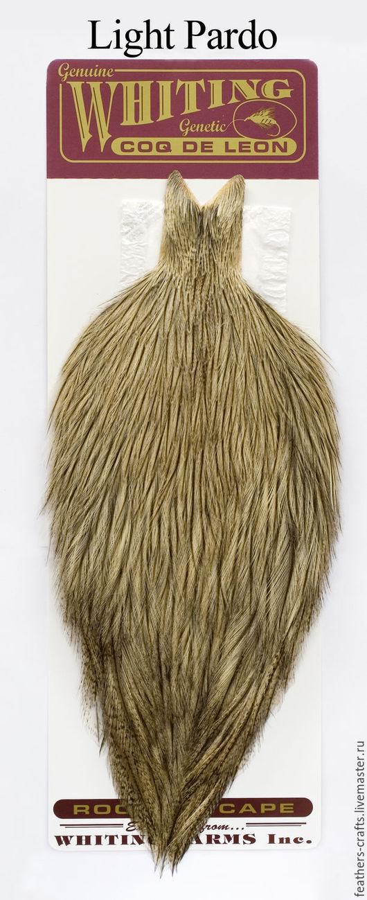 Другие виды рукоделия ручной работы. Ярмарка Мастеров - ручная работа. Купить Перья Coq de Leon Rooster Cape ( 51801042). Handmade.
