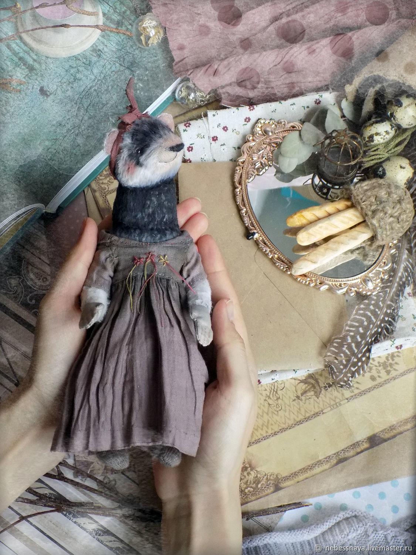 Mrs.  Ferret, Teddy the ferret, Stuffed Toys, Tyumen,  Фото №1