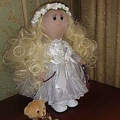 Куклы и игрушки ручной работы. Ярмарка Мастеров - ручная работа Куколка Девочка-Ангел. Handmade.