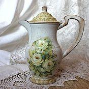 Посуда ручной работы. Ярмарка Мастеров - ручная работа Кофейник из Англии. Handmade.
