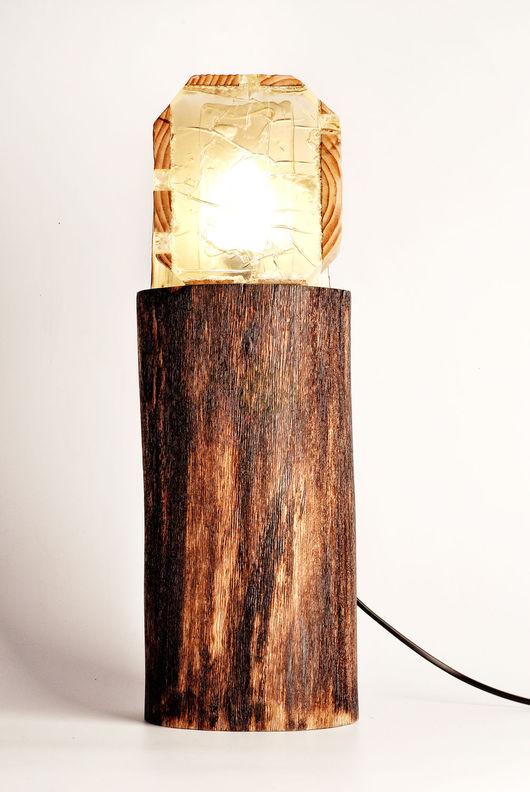"""Освещение ручной работы. Ярмарка Мастеров - ручная работа. Купить Напольный светильник """"МАЯК"""". Handmade. Свет, ручная работа, клён"""