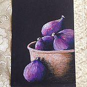 Картины и панно ручной работы. Ярмарка Мастеров - ручная работа Инжир. Handmade.