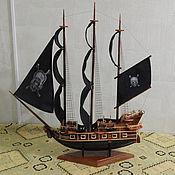 Сувениры и подарки ручной работы. Ярмарка Мастеров - ручная работа Пиратский парусник. Handmade.