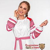 Русский стиль handmade. Livemaster - original item Dress festive Slavic