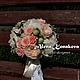 Свадебные цветы ручной работы. Заказать Букет невесты из пионов. Алена Конакова флорист-дизайнер. Ярмарка Мастеров. Свадебные аксессуары
