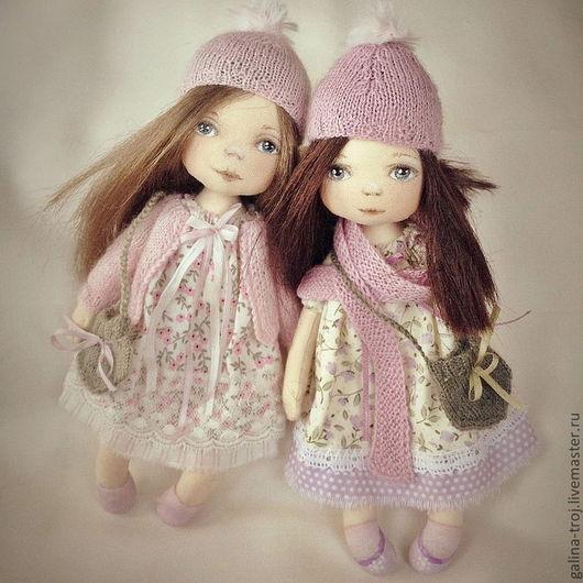 Коллекционные куклы ручной работы. Ярмарка Мастеров - ручная работа. Купить Бекки и Холли. Handmade. Малышка, коллекционная кукла, холофайбер