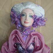 """Куклы и игрушки ручной работы. Ярмарка Мастеров - ручная работа """"Виолетта-Сумерки"""". Handmade."""