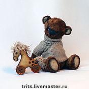 Куклы и игрушки ручной работы. Ярмарка Мастеров - ручная работа Антошка и лошадка. Handmade.